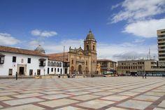 Plaza de Bolívar, Tunja, Boyacá, #Colombia. Visit our website: http://www.going2colombia.com/