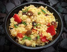 Spiced couscous salad - CookTogether