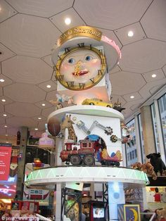 """Fao Schwarz New York, my sister loved to play """" I Dare You To Touch"""" in here; especially near all the expensive stuff!"""