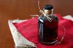 Homemade Vanilla, Orange & Almond Extracts