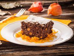 Kürbis-Brownies - Rezept