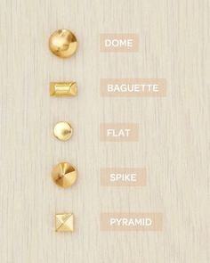 Stud Glossary Martha Stewart Studded Jewelry and Accessories. Super Cute!! Many many projects to do.