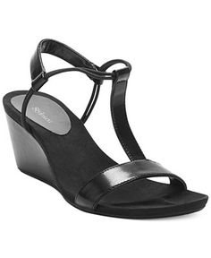 Style & Co. Mulan Wedge Sandals, Only at Macy's - Sandals - Shoes - Macy's