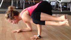 Kathryn Budig Challenge Pose: Funky Side Crow