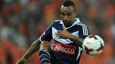 Melbourne Victory re-sign Archie Thompson, Adrian Leijer Archie Thompson, Melbourne Victory Fc, Soccer Ball, Victorious, Football, Sign, Sports, Soccer, Hs Sports