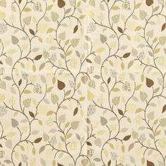 A classical designed jacquard fabric with leaves woven into the fabric with the use of the modern colours this has made a classically designed fabric very modern and fresh.