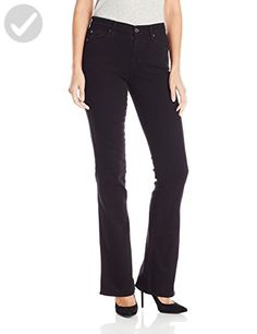 7 For All Mankind Women's Kimmie Bootcut Overdye, Washed Overdyed Black, 26 - All about women (*Amazon Partner-Link)