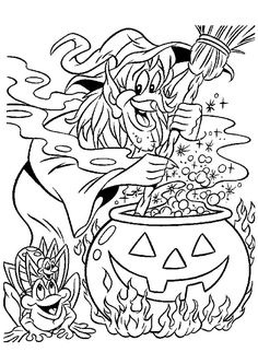 Coloriage licorne colorier dessin imprimer - Jeux de sorciere potion magique gratuit ...