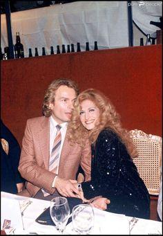 Dalida avec son compagnon Richard Chanfray