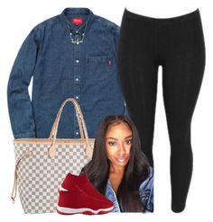 """""""Untitled #431"""" by princess-miyah ❤ liked on Polyvore featuring Louis Vuitton"""