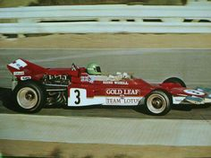 Reine Wisell, Gold Leaf Team Lotus 72B, 1971.