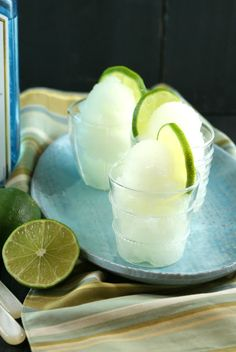 Authentic Suburban Gourmet: Gin & Tonic Sorbet | Friday Night Bites