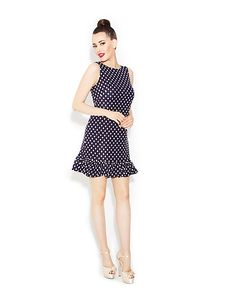 LOVELY DOTS DRESS By Betsey Johnson | stylinshoes