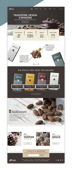 NUVOLA Chocolate   E-Commerce -  Artwork di Nicola Piedimonte -  Area: #Web #Design -  Categoria: #Sito #webdesign #mokup -  Corso: #corso #Ilas #Webdesign -  Docente: Marco Tramontano