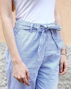 Tempo incerto? No problem! Io indosso questi pantaloni lunghi di cotone appena presi da @zara 😍 Li adoro perché sono morbidi e traspiranti!…