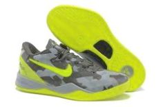 free shipping 3e14b f0768 Buy Nike Kobe VIII 8 System GC Sport Grey Volt-Pure Platinum Mens Shoes  store sell the cheap Nike Kobe VIII online, it is high quality Nike Kobe  VIII ...