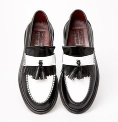 Two Tone Rude Boy Special Tassel Loafer | Mod Shoes