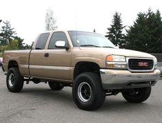 Lifted 4x4 Truck 2001 GMC Sierra 1500 SLE Z71 — $8995