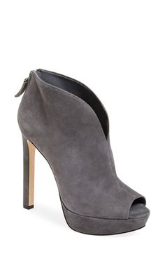 Free shipping and returns on Nine West 'Vain' Platform Bootie (Women) at Nordstrom.com. A plunging topline and wrapped platform sole heighten the drama of a pristine peep-toe bootie with a lavish suede finish.