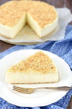 Zitronen Kokos Quarkkuchen Rezept Quarkkuchen Ohne Backen Kuchen Und Torten Kuchen