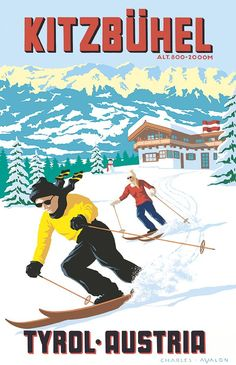 Image result for vintage winter posters