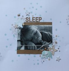 Twinkle Twinkle little star 8th page olan mills picture sleeping