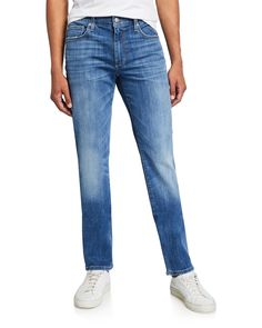 Joe's Jeans Men's The Brixton Straight Jeans In Blue Brixton, Joes Jeans, Slim, Cotton, Clothes, Shopping, Style, Fashion, Clothing