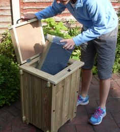 Pets, Home & Garden: How to maintain, clean and care for garden furniture Furniture Projects, Garden Furniture, Wood Projects, Diy Furniture, Woodworking Projects, Mail Drop Box, Parcel Drop Box, Drop Box Ideas, Porch Boxes