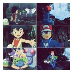 Awww this is cute. I love how XY really showed Ash as a kid and showed us his past. It showed us how he became the trainer he is today.