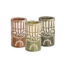Tiki Shot Sets Khaki/Green/Brown