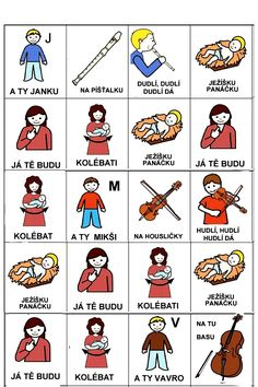 Pro Štípu: Pujdem spolu do betlema Christmas Crafts, Crafts For Kids, Language, Education, Comics, Learning, Logos, School, Pictures