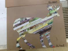 Animal collages (using magazines as media)