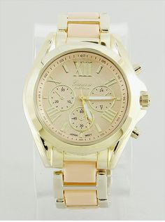 P.S. I Love You More Boutique | Timelessly Beautiful Watch in Peach | www.psiloveyoumoreboutique.com