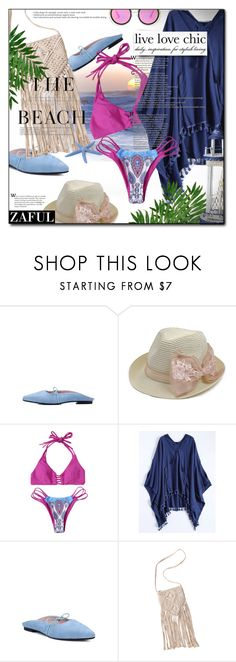 """""""NEW CONTEST! ZAFUL clearance sale- 2 winners will win $20"""" by astromeria ❤ liked on Polyvore featuring H&M, Summer and zaful"""