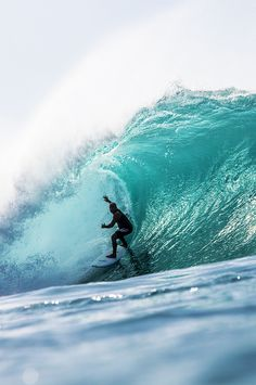 Mike Ho, in Pipeline, Photo by Zak Noyle...