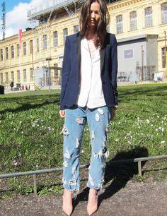Street Style - Columbine Smille wears Kurt Geiger London 'Dragon'  www.columbine.freshnet.se