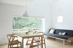 桜の季節にはウッドデッキでお花見を | 施工例のご紹介 | 無印良品の家