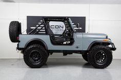 Side View of 1985 Jeep CJ7