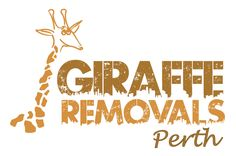 final logo design for giraffe removals = very happy client!