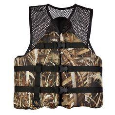 No Limits Camo Sabine Paddling Vest XS//S