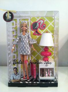 Barbie Collector Pink Label Barbie ♥ Jonathan Adler Doll | eBay