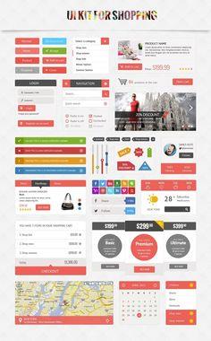 [Ressource] – Un superbe UI kit pour e-commerce