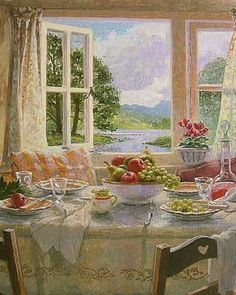 Lunch by an Open Window - Stephen Darbishire