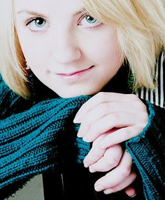 evanna lynch is definitly one of my heros mainly because of her story about how she battled anorexia and got the role of luna in harry potter series.