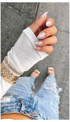 Long Square Acrylic Nails, Classy Acrylic Nails, French Tip Acrylic Nails, Bling Acrylic Nails, Almond Acrylic Nails, White Acrylic Nails, Best Acrylic Nails, Acrylic Nail Designs, French Nails