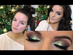 OBSESSED with her make up tutorials!! New years eve makeup look #makeuptutorial #caseyholmes #dramaticmakeup