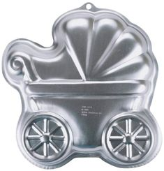 Wilton Baby Buggy Cake Baking Pan Tin Kids Birthday Party Aluminium for sale online Wilton Cake Pans, Cake Baking Pans, Number One Cake, Shaped Cake Pans, Two Layer Cakes, Baby Buggy, Baking Supplies, Cake Supplies, First Birthday Cakes