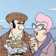 True Love Pete McKee Sheffield's finest artist English Fish And Chips, Pete Mckee, Sheffield Art, Cartoon People, Political Art, Love Illustration, City Art, Best Artist, Art Music
