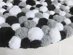 Dormitorio alfombra Pom Pom alfombra alfombras por PomPomMyWorld