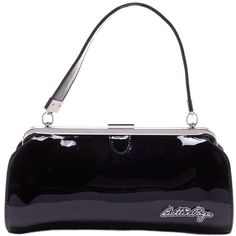 Sourpuss Clothing Bettie Page Cover Girl Purse Black
